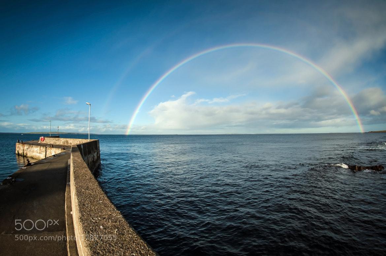 Photograph Double rainbow at John O'Groats by Zain Kapasi on 500px