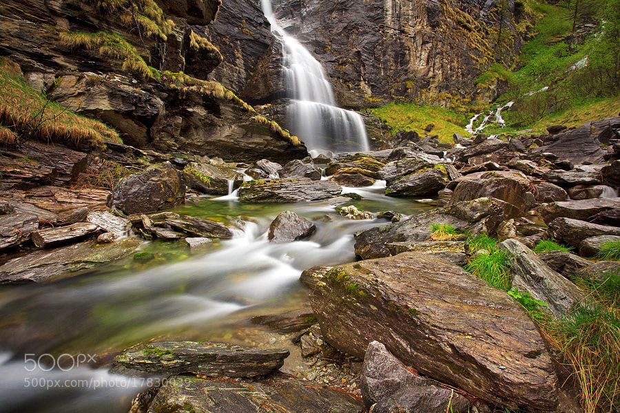 Photograph Alpe Devero Waterfall by Alessandro Terzi on 500px