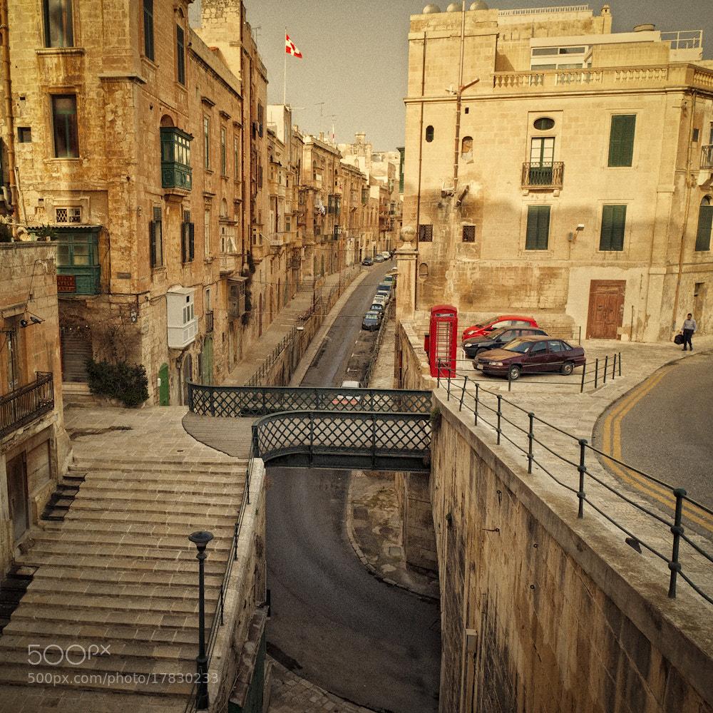 Photograph Valletta Street View by Allard Schager on 500px
