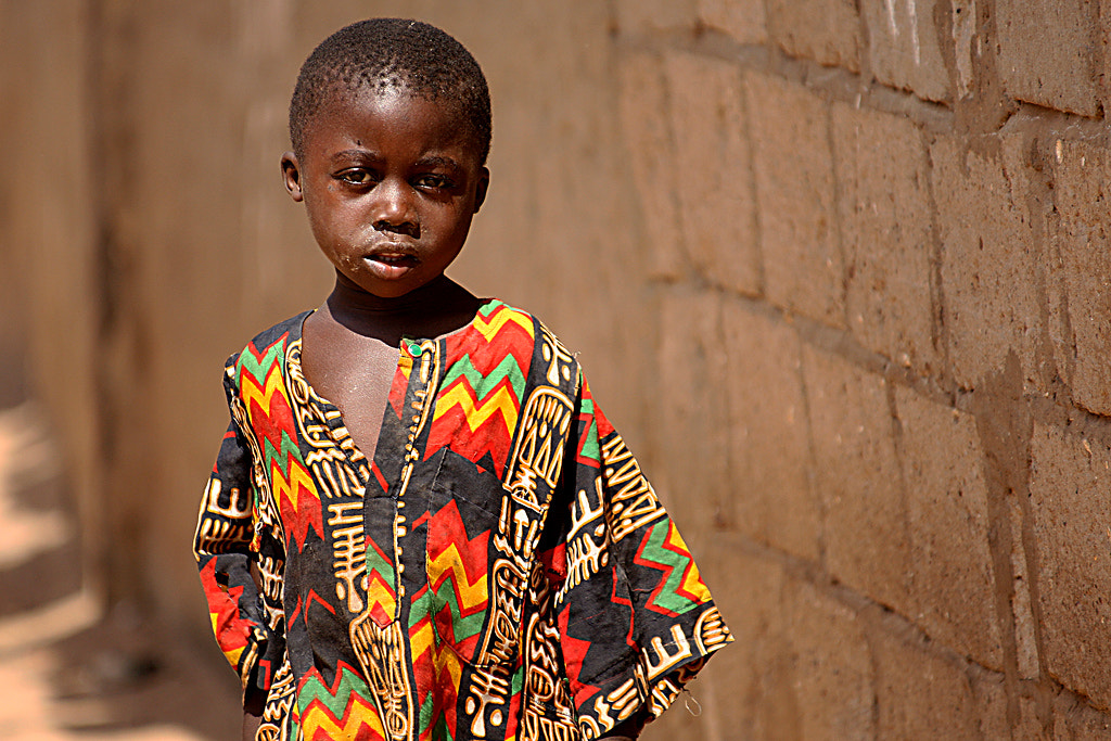 Photograph The colourful boy of Gambia by Pelle Kjorling on 500px