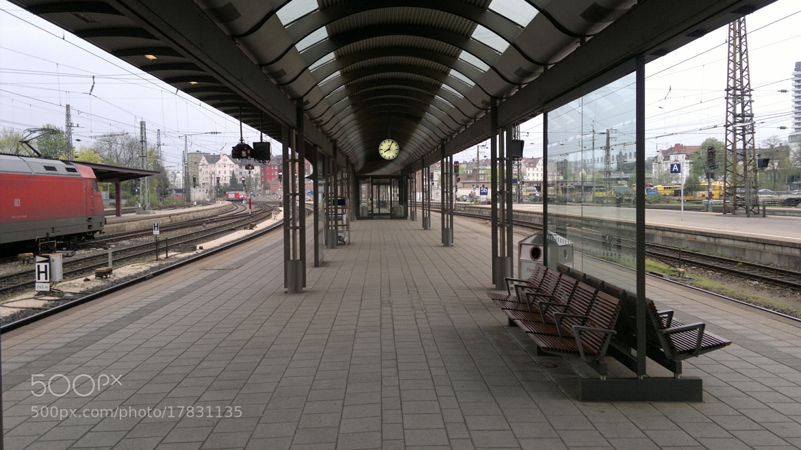 Photograph Trainstation by Michael Meidl on 500px