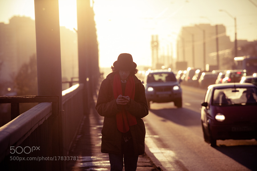 Photograph Man on the phone by George Malets on 500px
