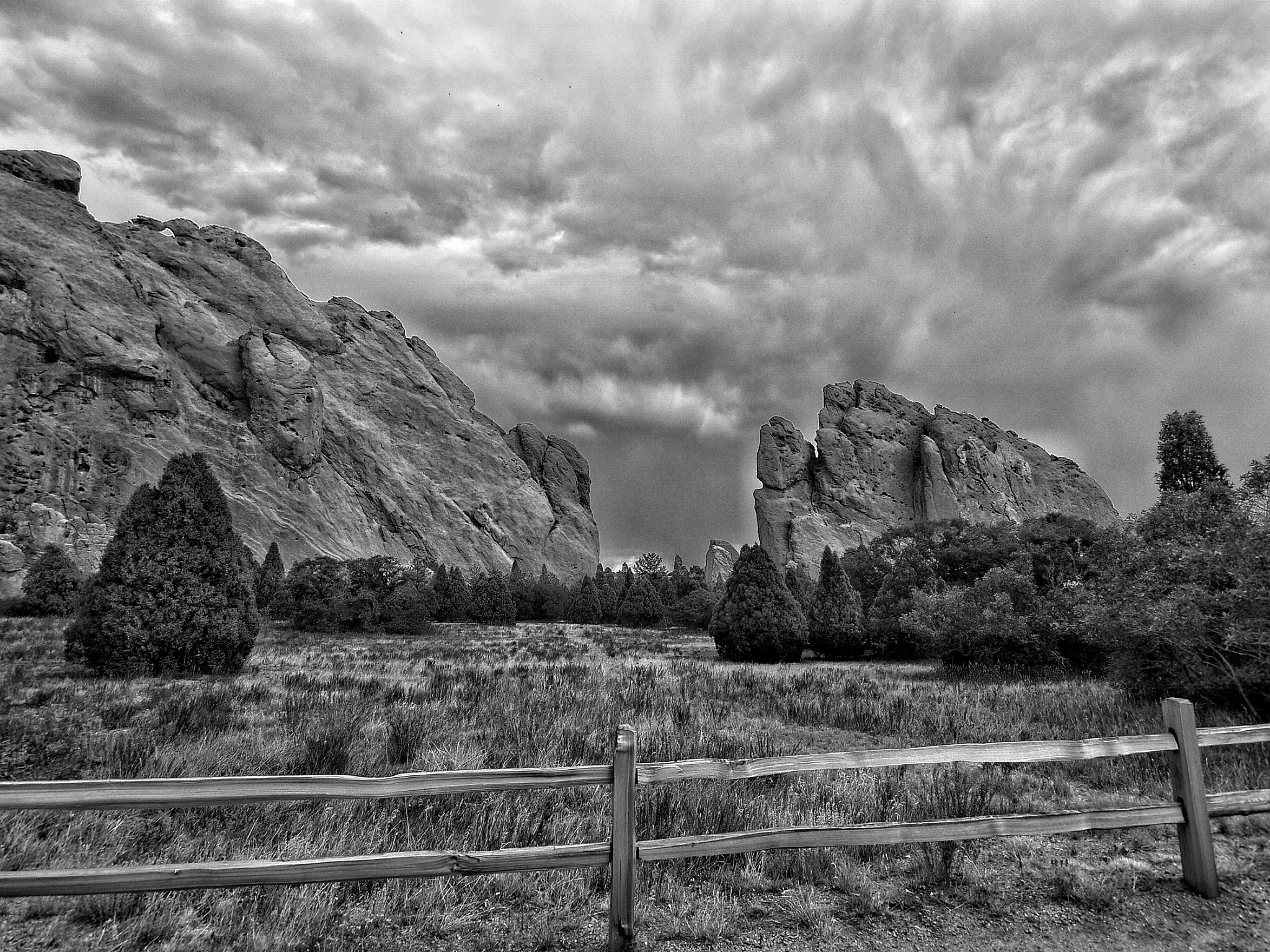 Photograph Garden of the Gods, Colorado Springs by Anthony Reed on 500px
