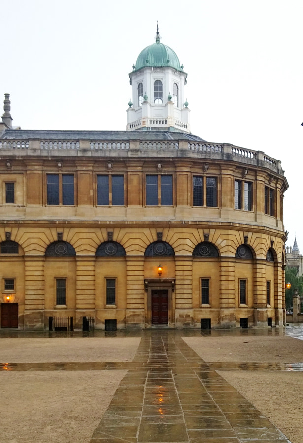 Sheldonian Theatre, Oxford, UK by Sandra on 500px.com