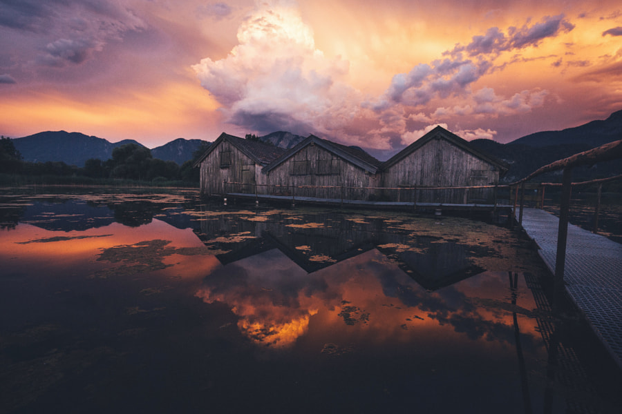 Sky is on fire. by Johannes Hulsch on 500px.com