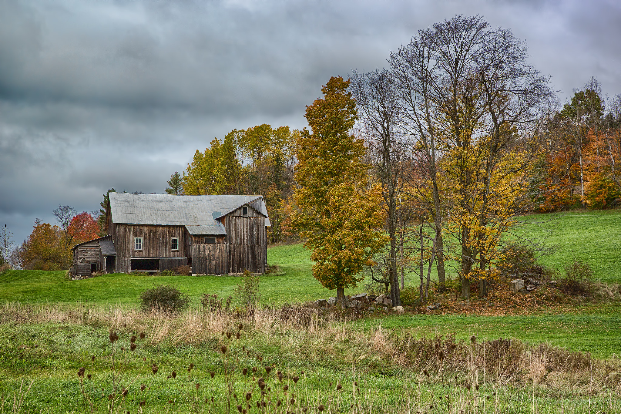 Photograph South Peacham Barn by Martin Belan on 500px