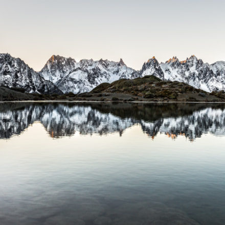 First light on Mont-Blanc, Canon EOS 5D MARK III, EF16-35mm f/4L IS USM