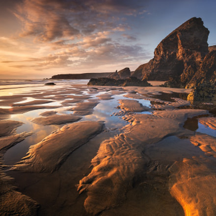 Bedruthan Steps at Carnewas, Canon EOS 5DS, EF16-35mm f/4L IS USM