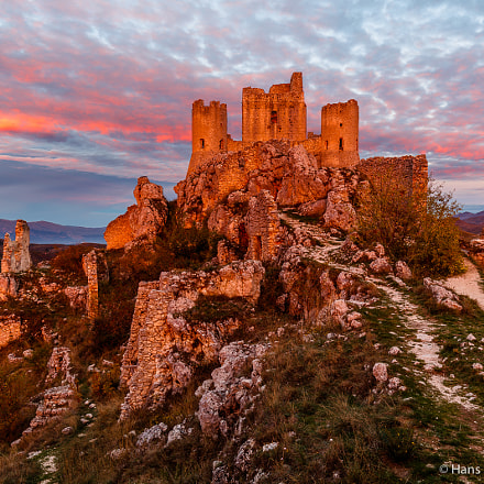 Rocca Calascio in morning, Canon EOS 5DS R, EF16-35mm f/4L IS USM