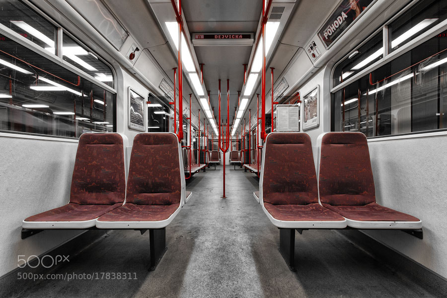 Photograph Another Subway Car in Prague by Alexander Dragunov on 500px