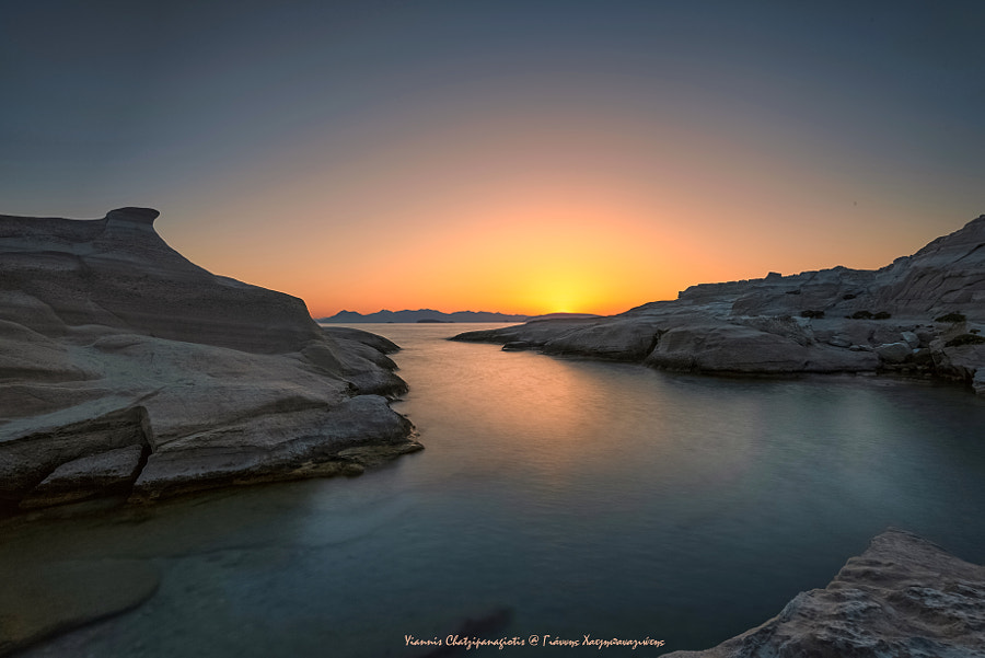 When the sun comes on a famous coast by Yiannis Chatzipanagiotis on 500px.com