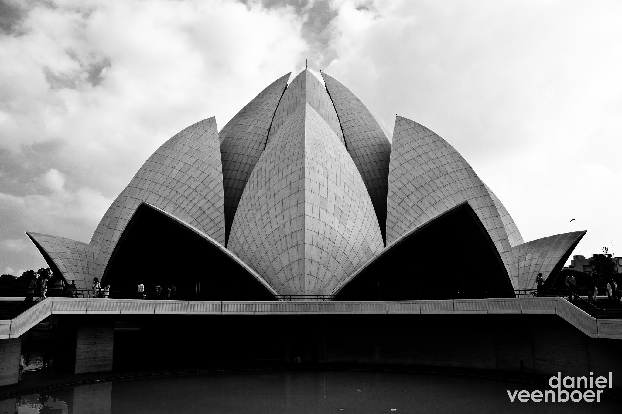 Photograph Lotus Temple by Daniel Veenboer on 500px