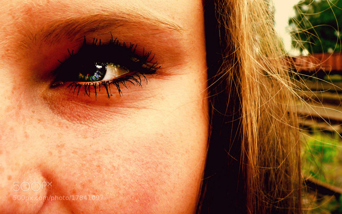 Photograph look into her eye by Angelika Bürger on 500px
