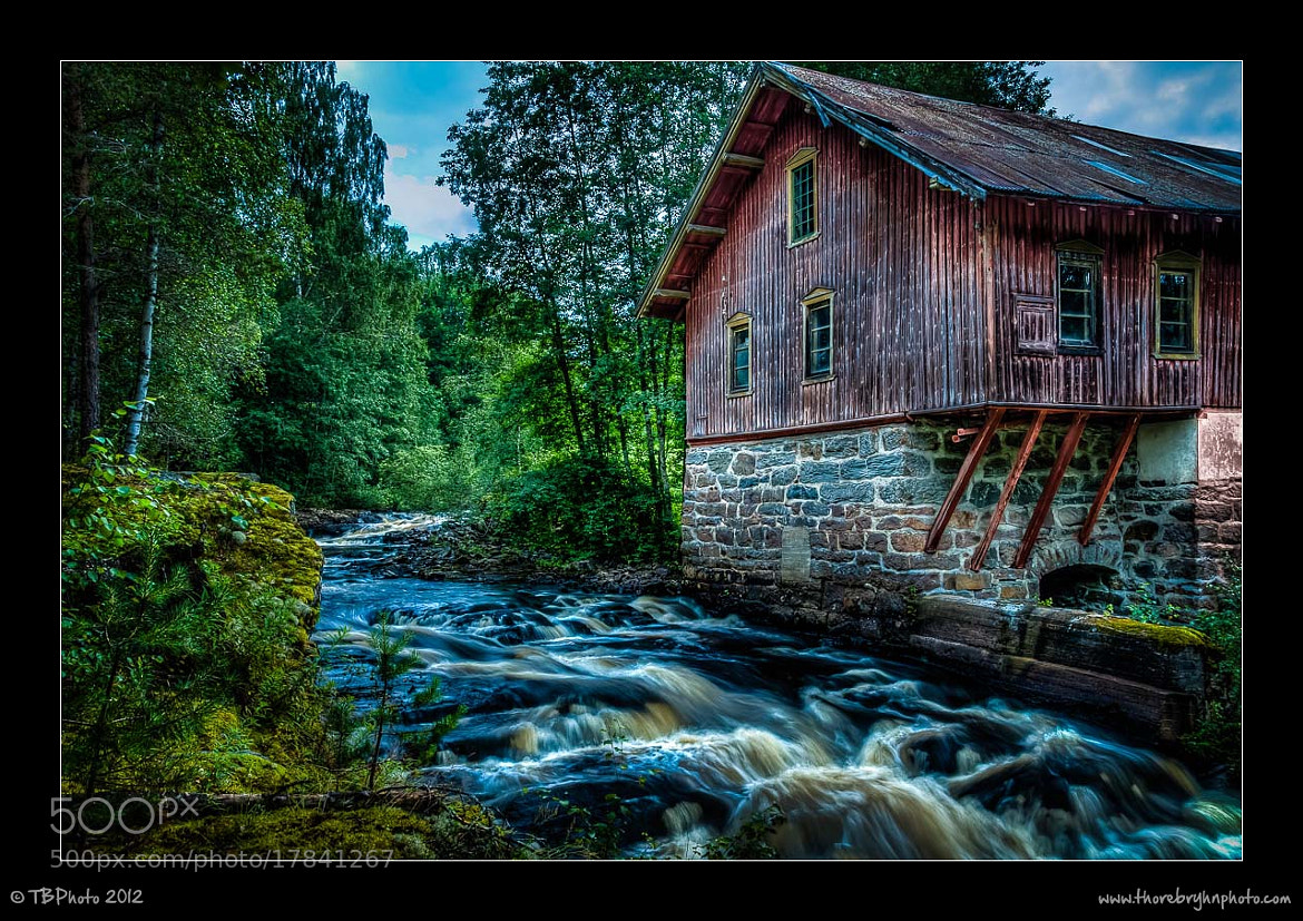 Photograph The old factory by Thore Bryhn on 500px