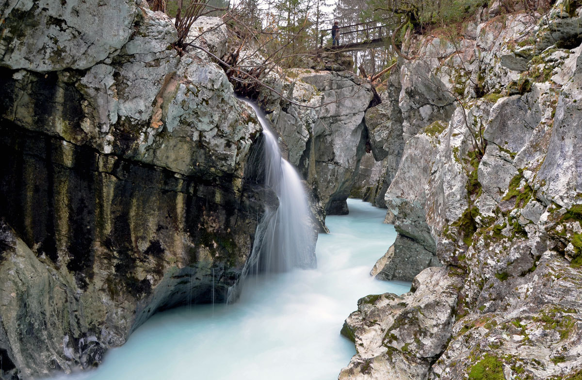 Photograph Great gorge of the Soca river by Azman Miro on 500px