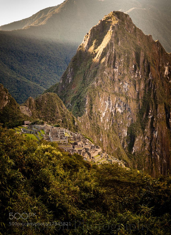 Photograph Huayna Picchu and Machu Picchu by Joe Dineen on 500px