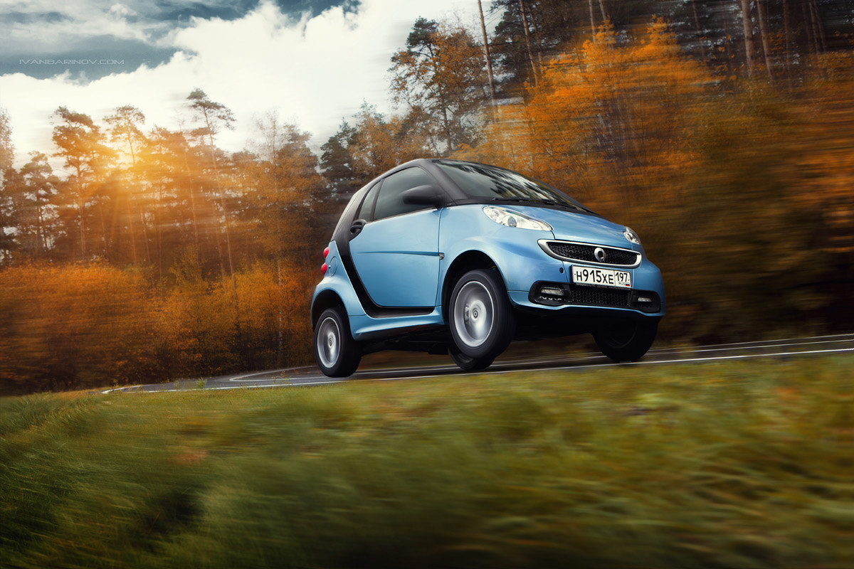 Photograph Smart Fortwo by Ivan Barinov on 500px