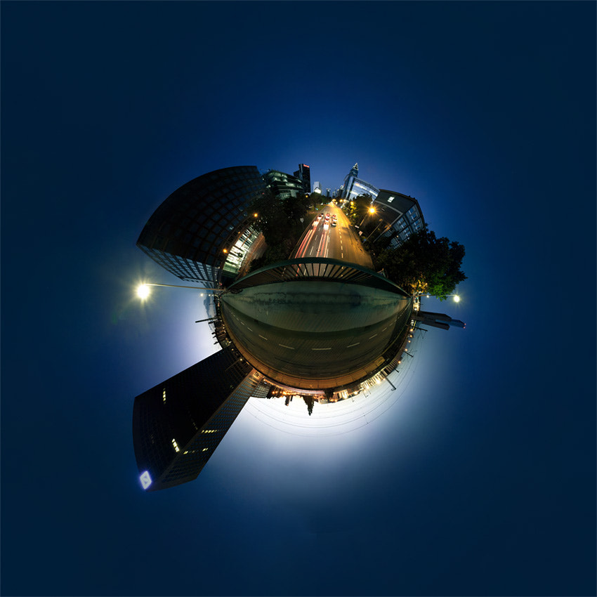 Photograph ffm.little.planet by Johannes Heuckeroth on 500px