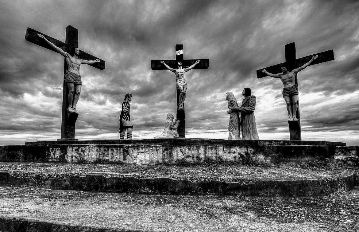 Photograph Three Cross by dave balisi on 500px