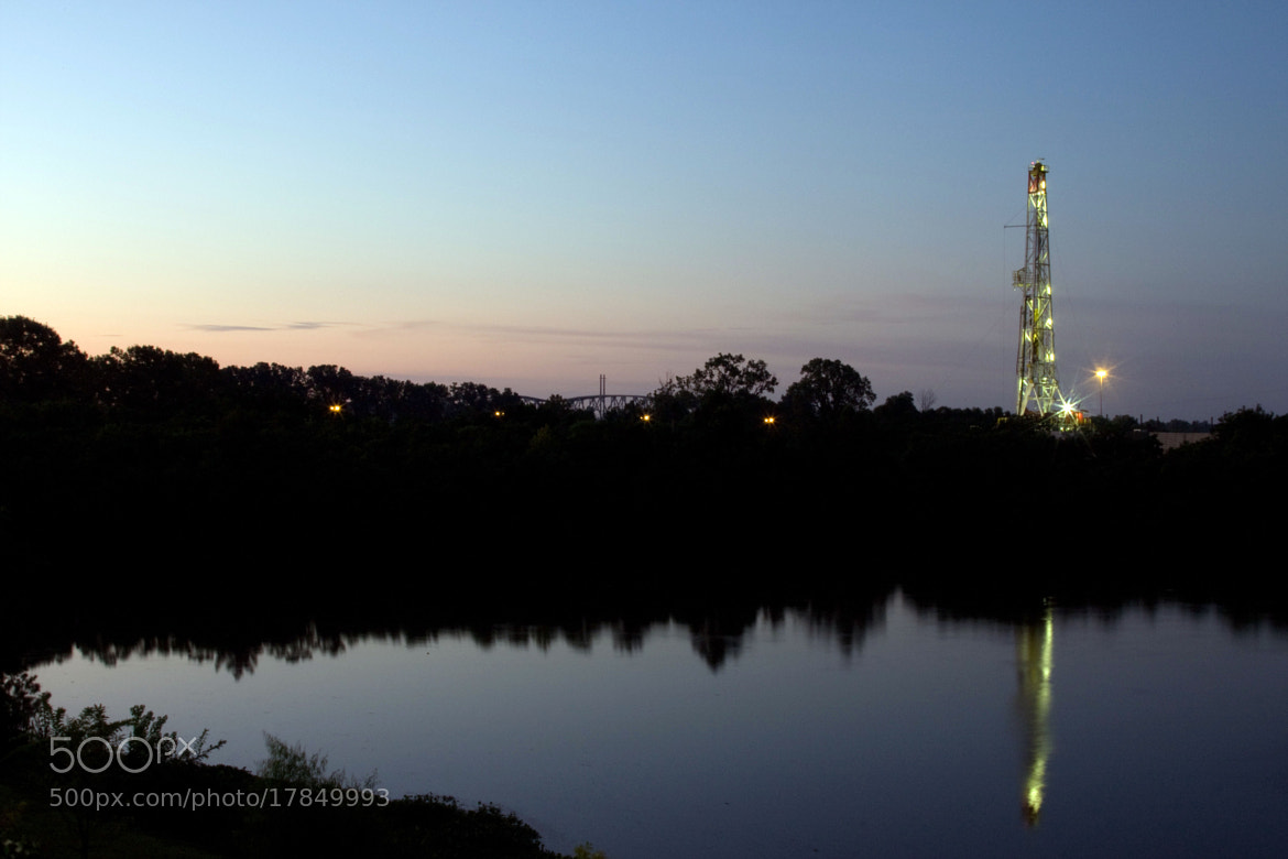 Photograph Natural Gas Drilling by Daniel Foster on 500px