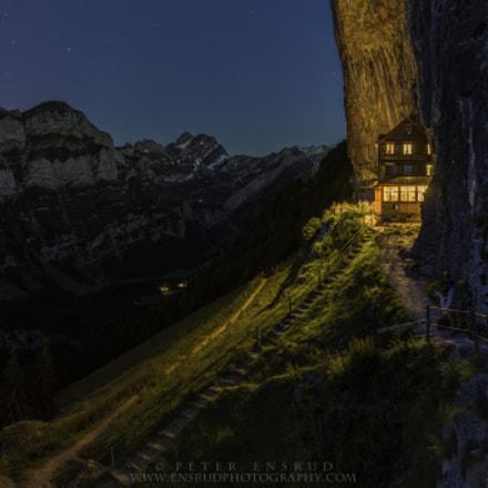 Ebenalp, Cliffside Swiss Restaurant