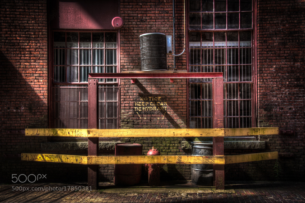 Photograph Keep Clean The Hydrant by Dave Wilson on 500px