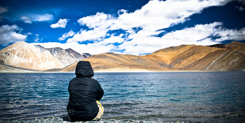 Photograph Pangong lake by Akshay Gogoi on 500px