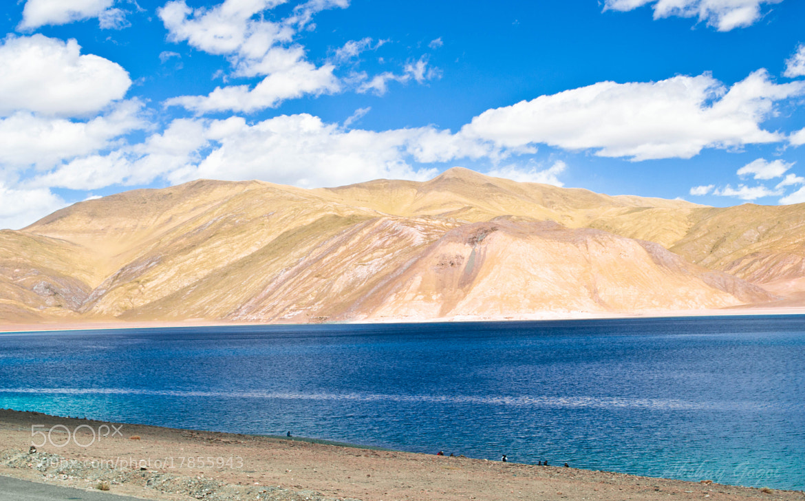 Photograph Pangong lake by Akshay Gogoi on 500px