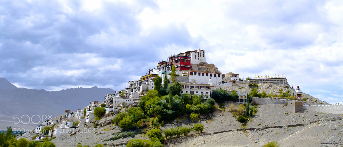 Photograph Thiksey monastery by Akshay Gogoi on 500px