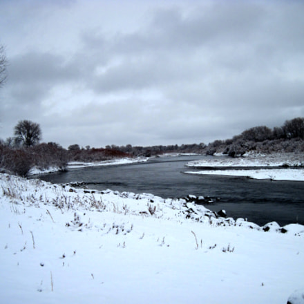 River in winter, Canon POWERSHOT A1100 IS