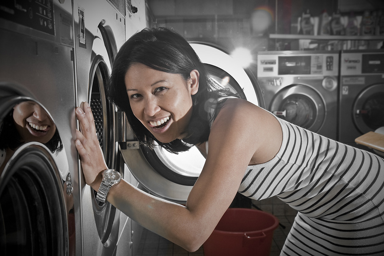 Photograph Crystal@the laundromat-II by II-Crystal on 500px