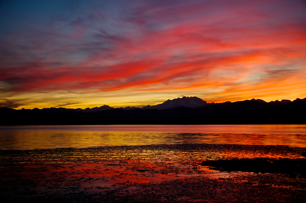 Photograph Fire in the sky. by Mauro Del Romano on 500px