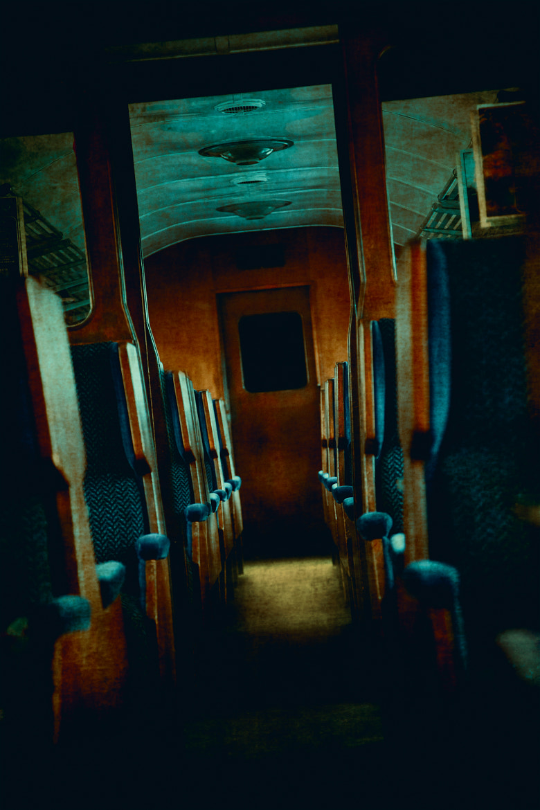 Photograph Spooky Train Carriage by Innershadows Photography on 500px