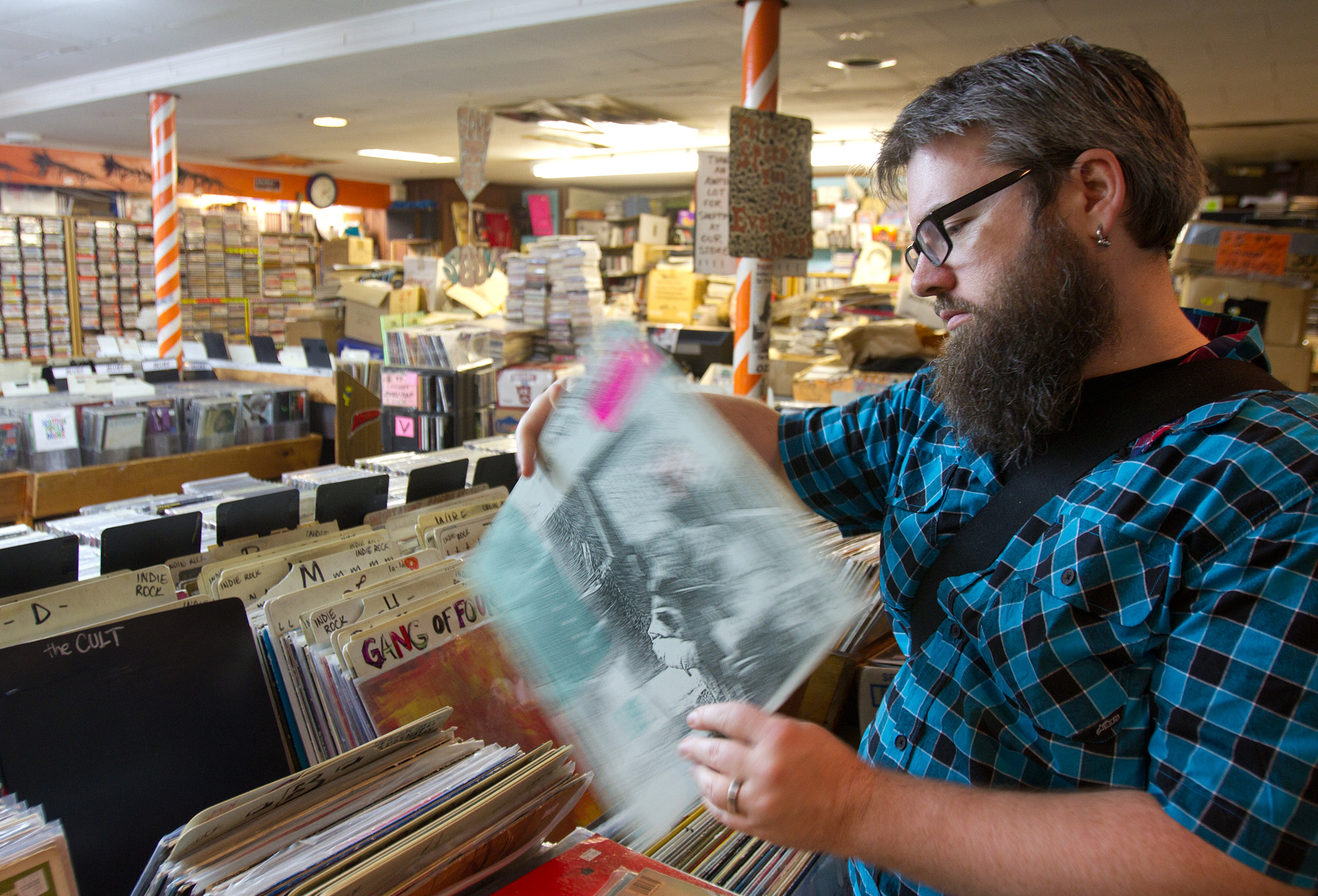 Photograph Record Shopping by caro sheridan on 500px