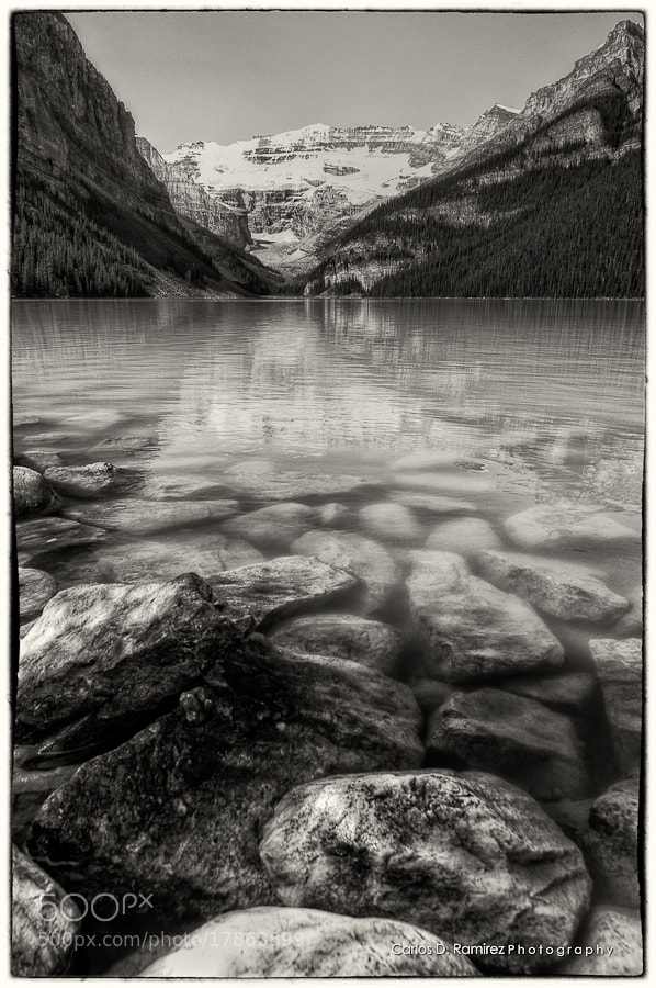 Photograph Lake Louise by Carlos D. Ramirez on 500px