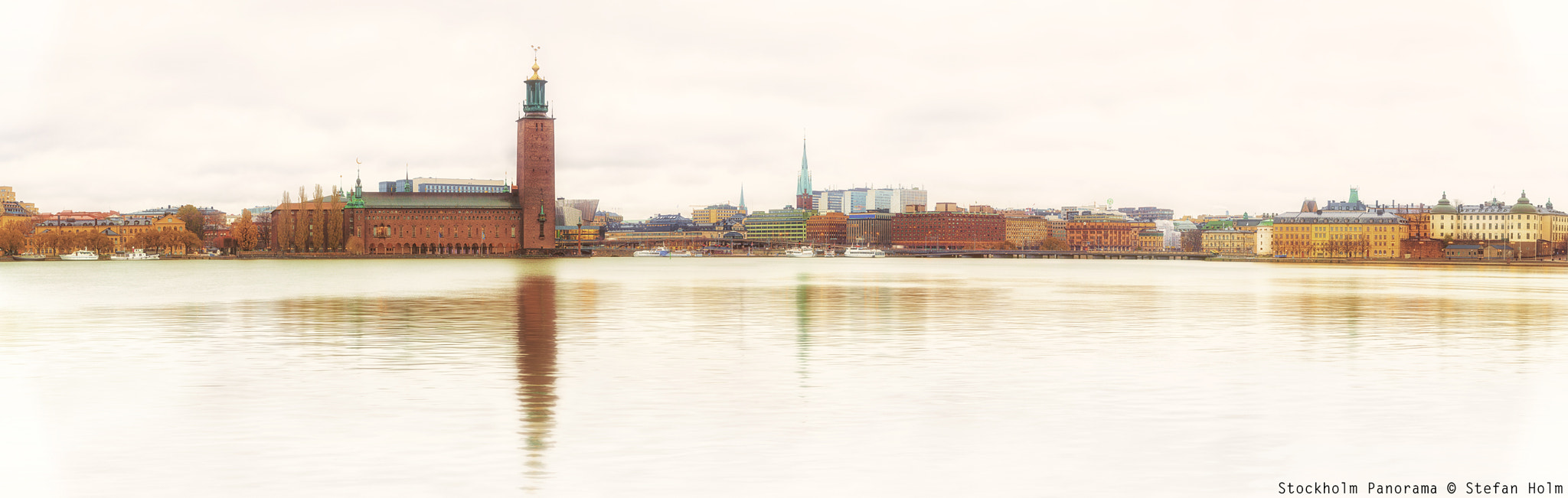 Photograph Stockholm Panorama by Stefan Holm on 500px