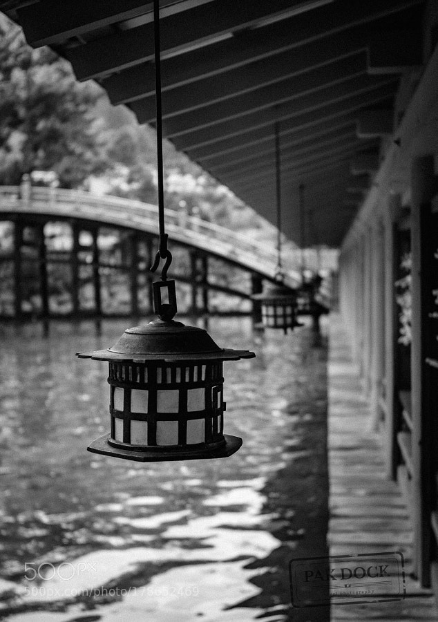 The last lamp - Itsukushima