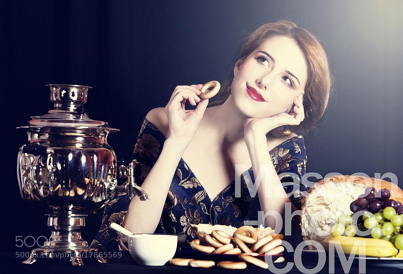 Photograph Portrait of beautiful rich russian women. by Vladimir Nikulin / Masson on 500px