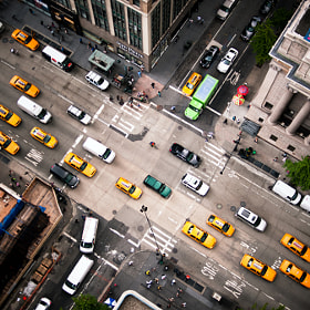 Intersection | NYC by Navid Baraty (navidbaraty)) on 500px.com