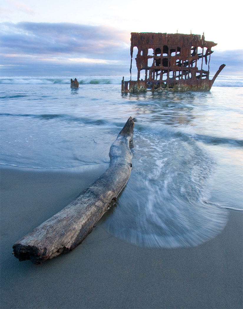 Photograph Peter Iredale at Sunset by Ian Chapin on 500px