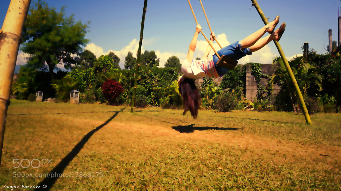 Photograph Sarah is swinging ... by Pooyan Farnam on 500px