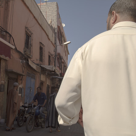 White Shirt - Marrakech