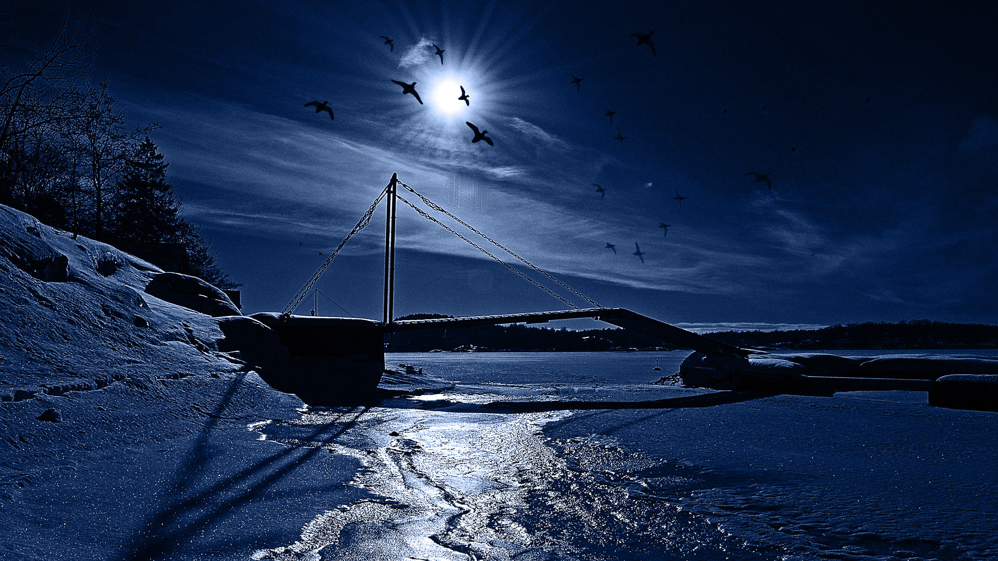 Photograph On a cold winterday by Odd Smedsrud on 500px