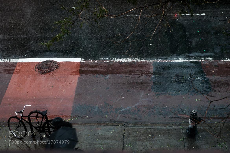 Photograph East Village Rain, 2nd Ave by Kurt Nelson on 500px