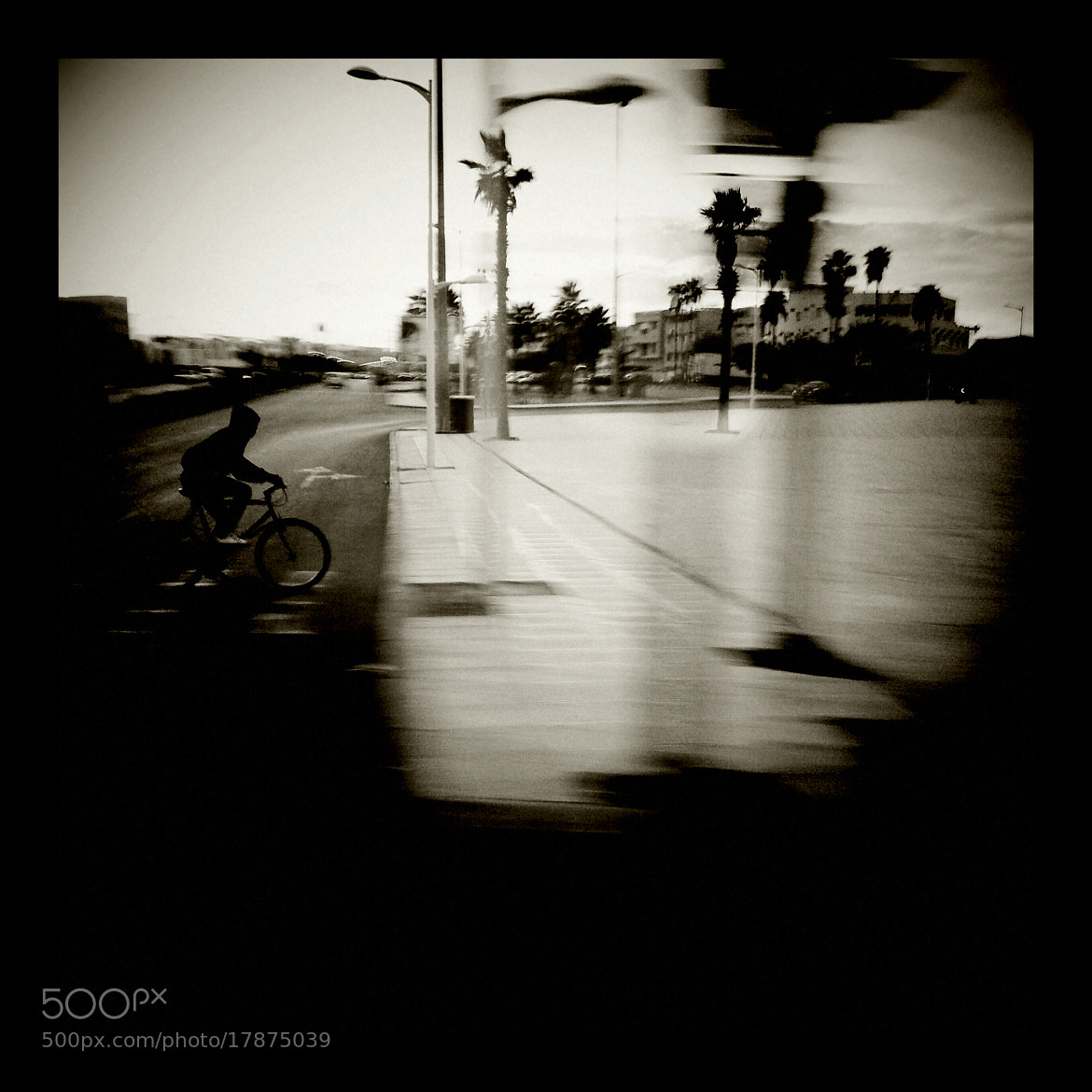 Photograph The dark cyclist by Youssef Amerniss on 500px