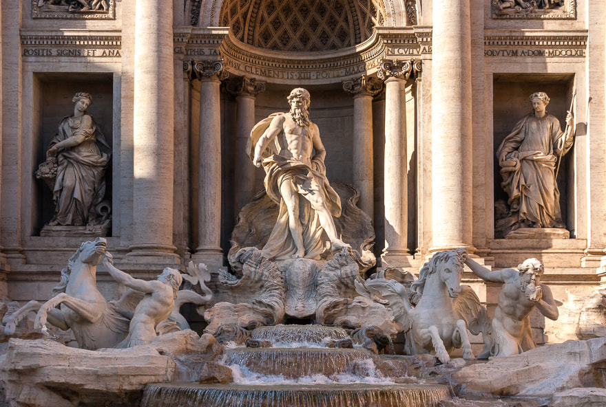 Photograph Fontana di Trevi by Davide Mazzocchi on 500px