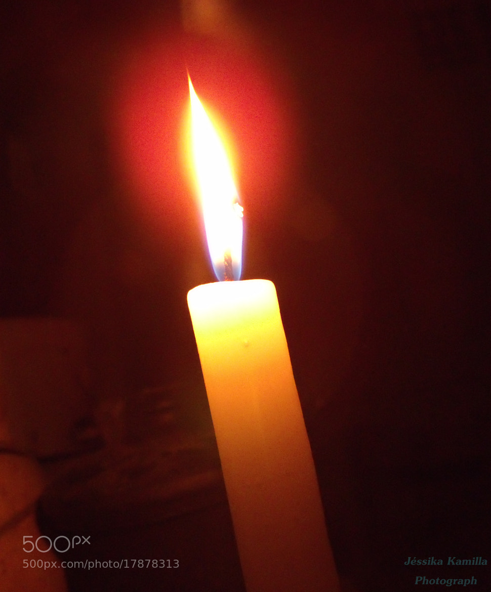 Photograph Candle in the blackout by Jéssika Santos on 500px