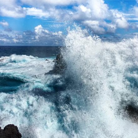 Wild coast of Sainte Rose © Patrick Barret