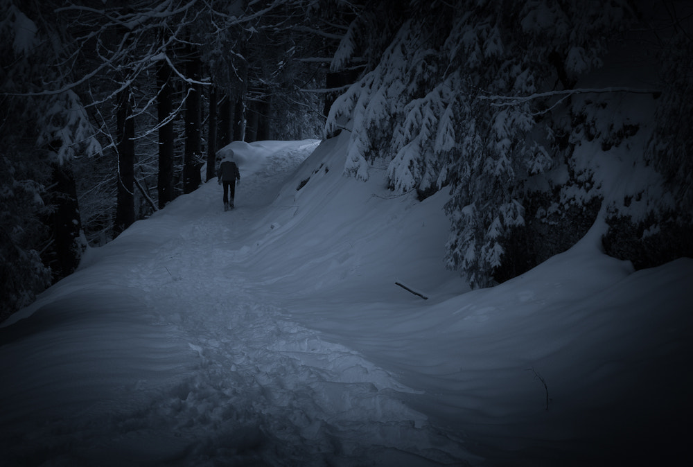 Photograph the lonely way by Tobias Milz on 500px