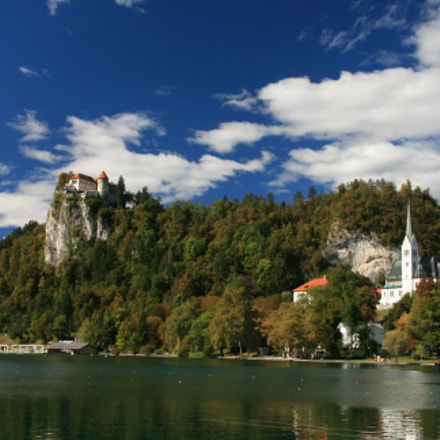Bled, Canon EOS 400D DIGITAL, Sigma 18-125mm f/3.8-5.6 DC OS HSM